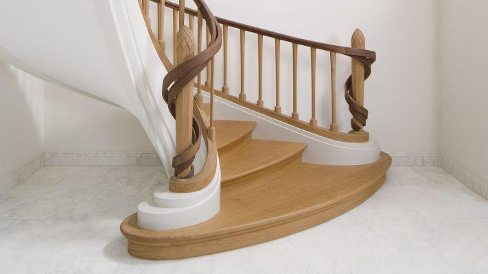 Stairs met korenaren