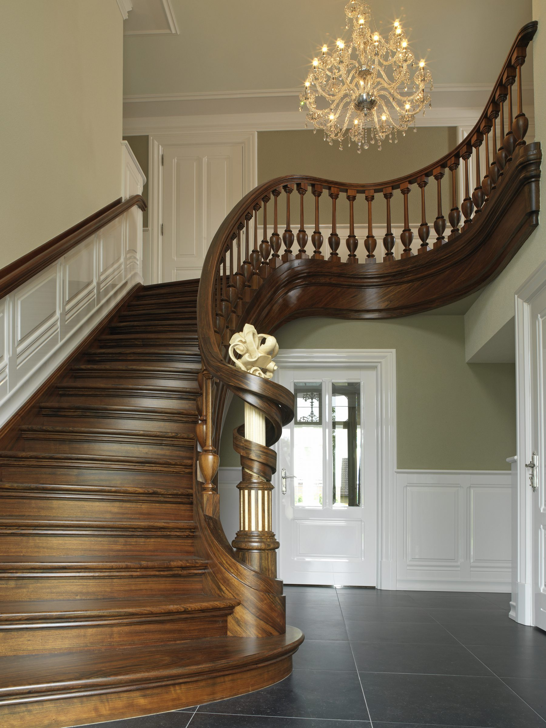 Stairs with Wood Planer