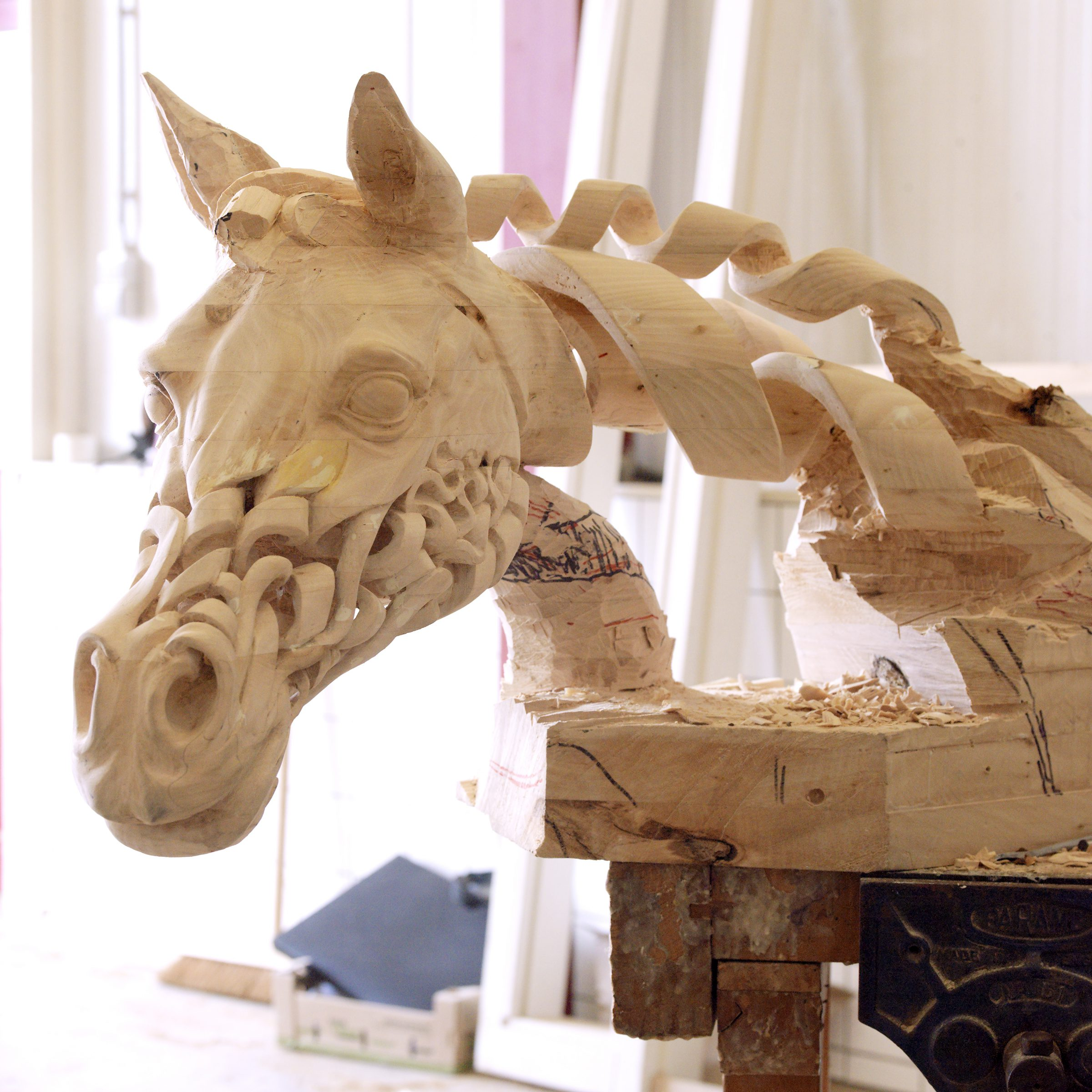 Sculpture Horsehead
